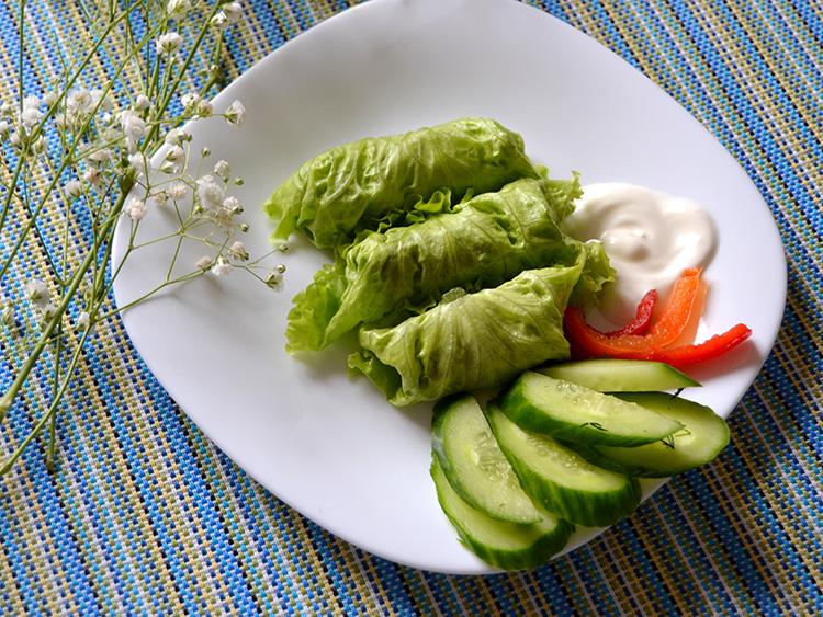 Lettuce Leaf Wrap