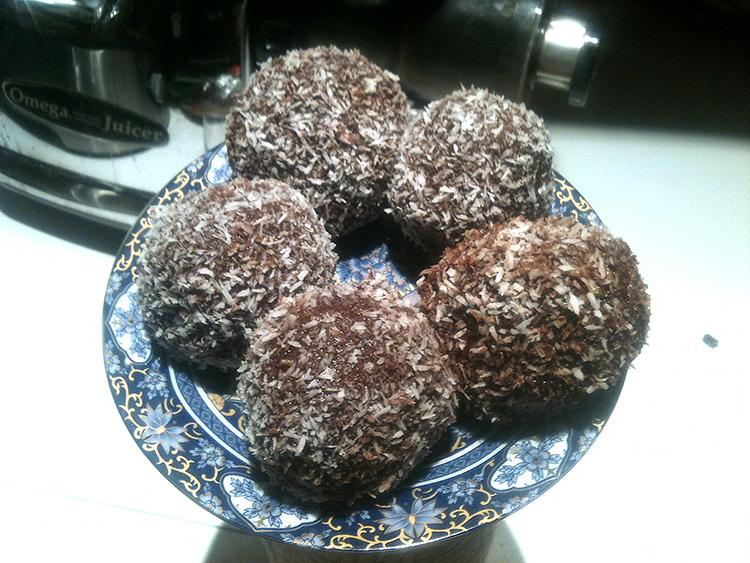Caramel Coconut Balls