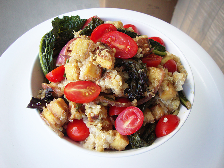 Quinoa & Tofu