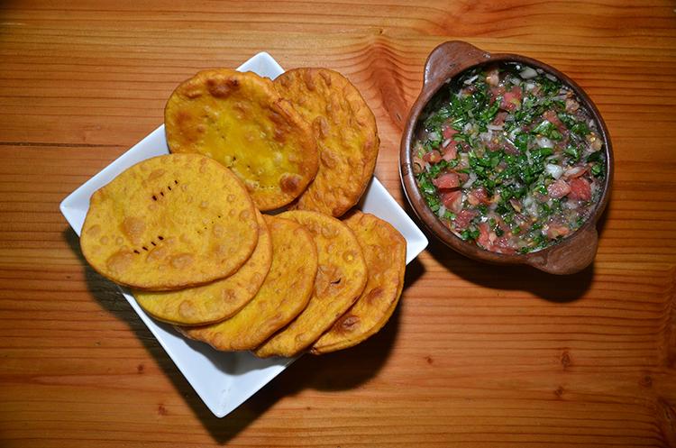 Sopaipillas & Pebre Sauce