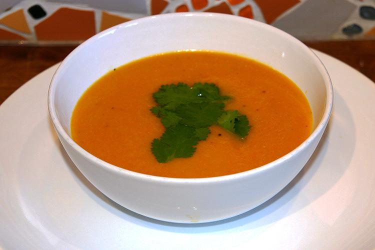 Oriental Carrot Soup