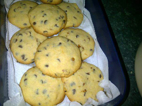 Nut Choc Chip Cookies